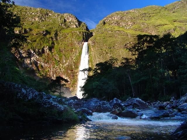 Cachoeira Casca D' Anta – Serra da Canastra em Minas Gerais