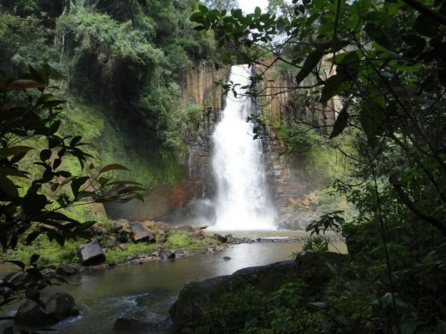 Cachoeira Chicao II em Faxinal Paraná