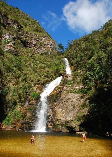 Cachoeira do Patrocínio Amaro – Ipoema - Minas Gerais