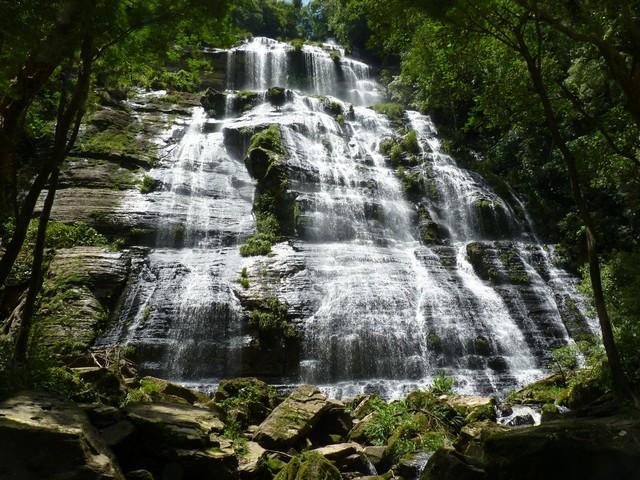 Cachoeira Salto Milot em Prudentópolis Paraná