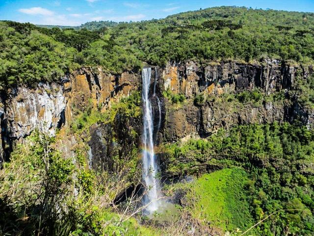 Cachoeira Salto São Francisco em Prudentópolis Paraná