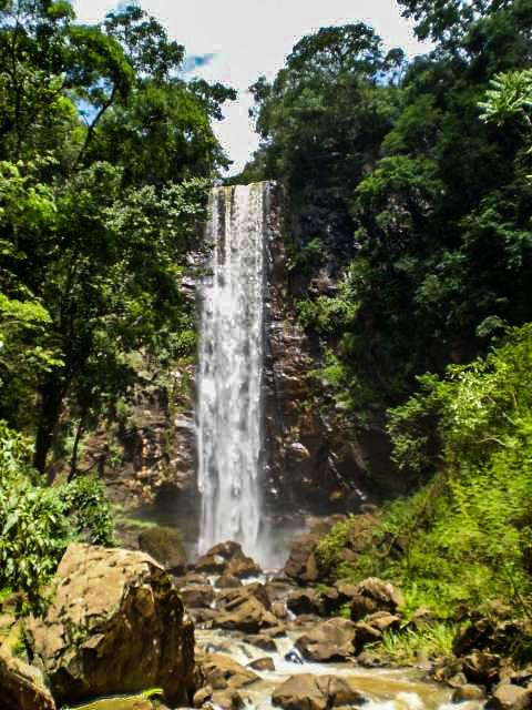 Cachoeira da Fonte em Faxinal Paraná