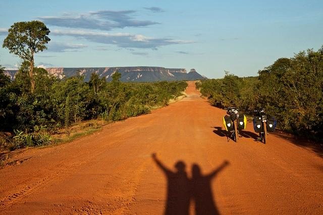 Viagem de bike pelo Jalapao
