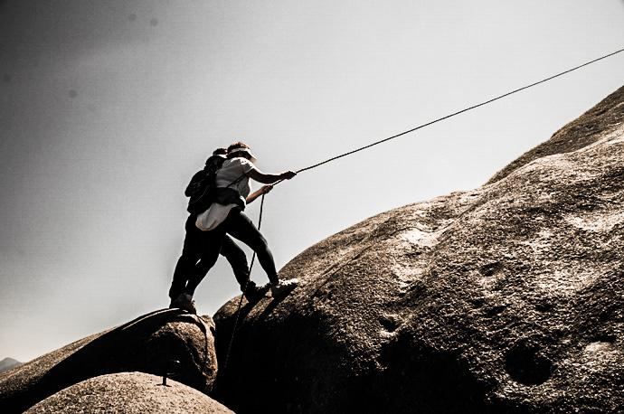 Subido do Pico do Prateleiras Itatiaia