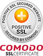 Positive SSL Secured by Comodo