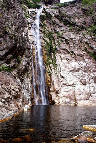 Cachoeira Rabo de Cavalo – Serra do Espinhaço em Minas Gerais