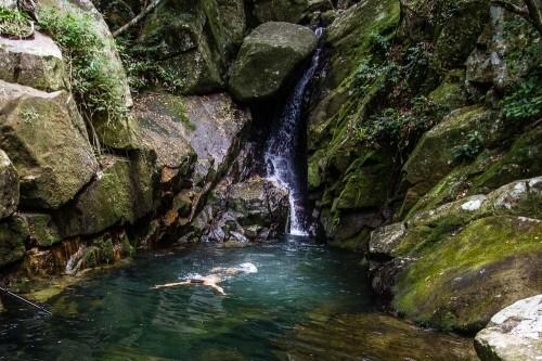 Cachoeira da Solidão em Santa Catarina SC