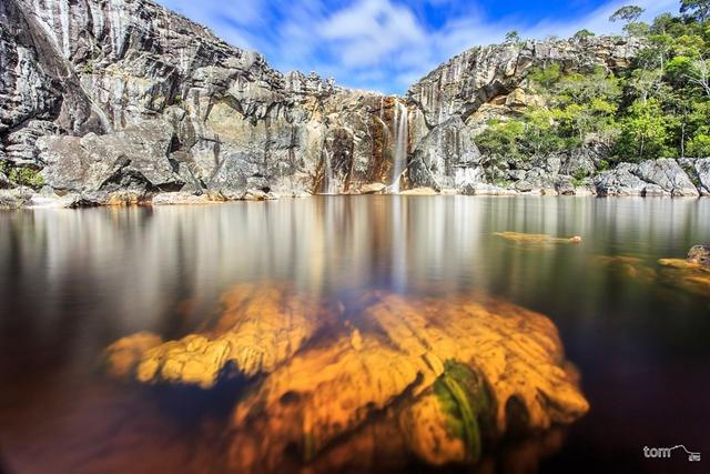 Cachoeira do Crioulo – Parque Estadual do Rio Preto - Minas Gerais