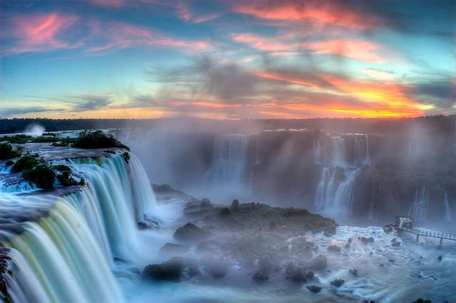 Cataratas do Iguaçu em Foz do Iguaçu Paraná