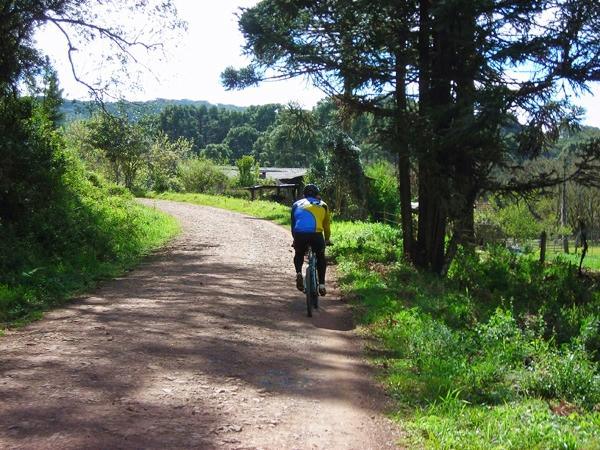 Passeio de bike de Gramado a Canela