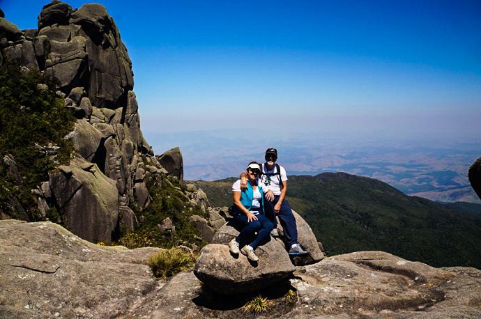 Base da escalaminhada para o Pico do Prateleiras