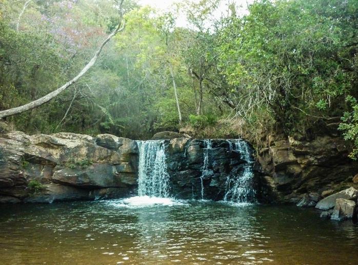 Cachoeira Paraiso em Sao Thome das Letras MG