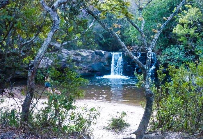 Cachoeira em Sao Tome das Letras