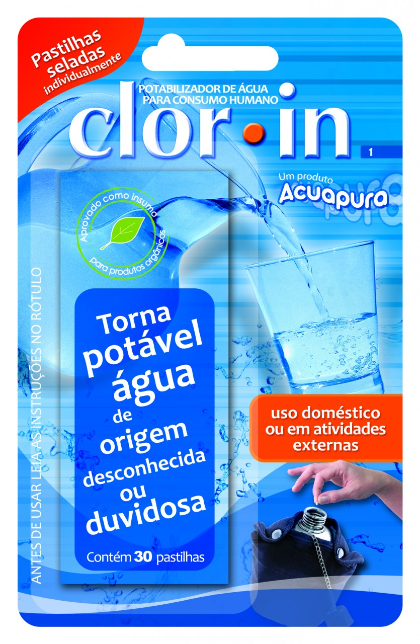 Clor in Purificador