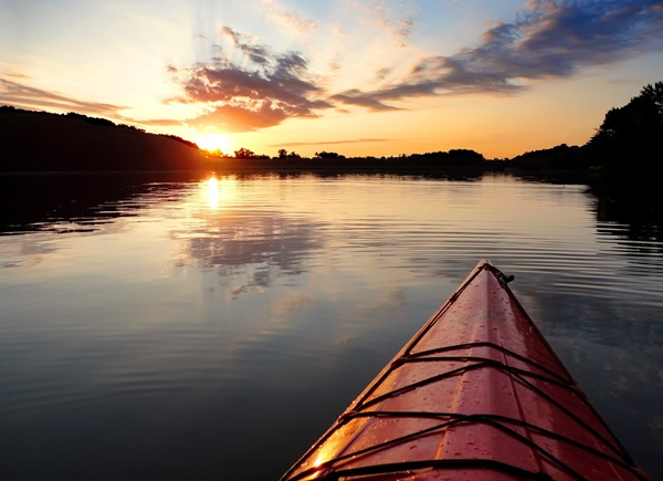 Passeio de Kayak
