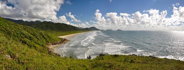 Praia Deserta da Jage Ilha do Cardoso