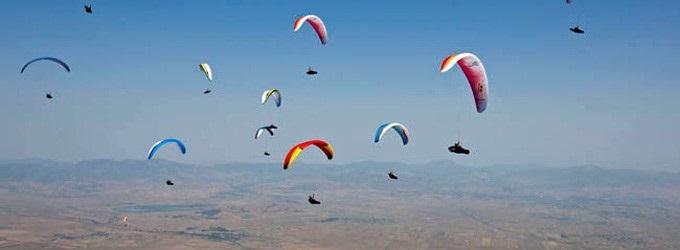 Voando Livre de Paragliding