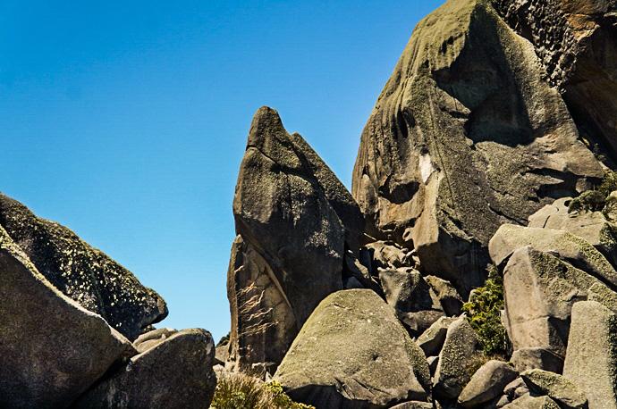 Pedra com formato de Tubarao