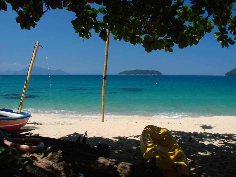 Praia Brava Palmas Ilha Grande
