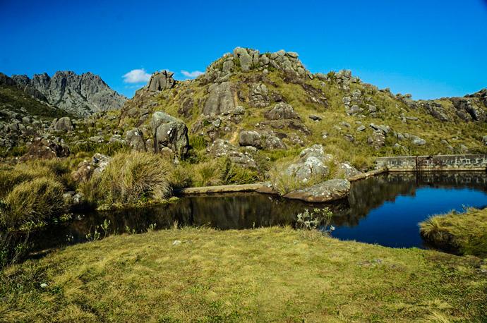 Represa no abrigo rebouças Parque Nacional do Itatiaia