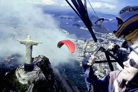 Parapente Corcovado Rio de Janeiro RJ