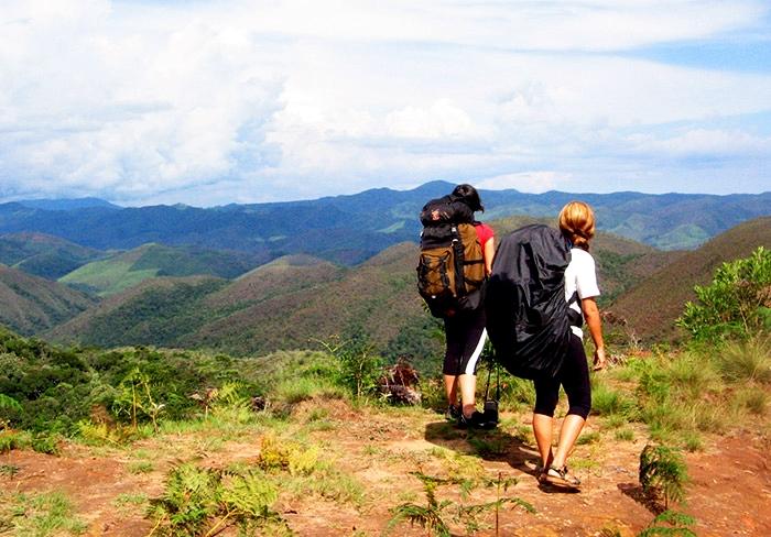 Vista das Montanhas da Trilha do Ouro
