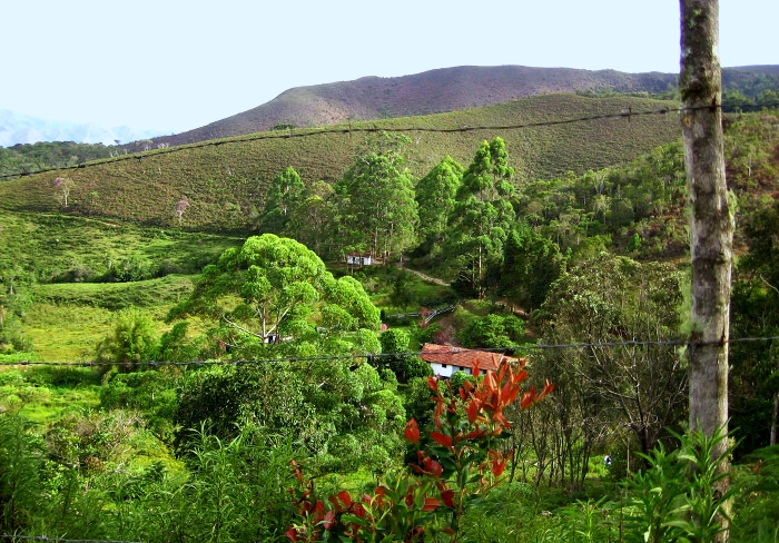 Casa de Fazenda no caminho da trilha