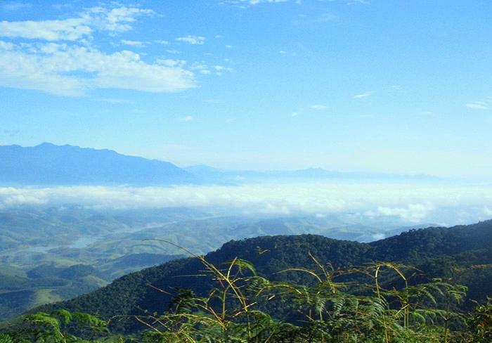 Vista de parte da Serra da Bocaina